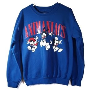 WARNER BROS Vintage Animaniacs Pullover Sweatshirt
